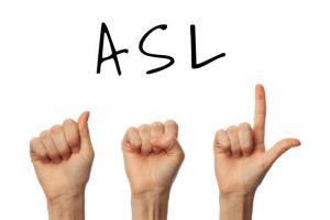Professional Sign Language ASL