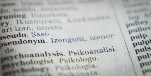 Basic Translation of words in a paper