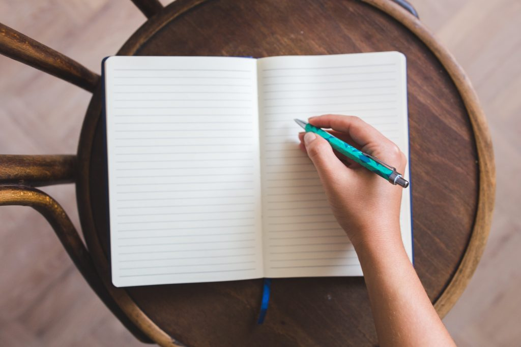 Write diary in a foreign language