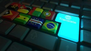 translate in a click of a button
